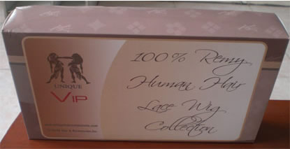 Box Packaging for Human Hair Lace Wigs