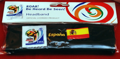 Headbands Packaging - 2010 World Cup