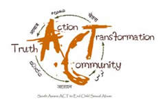 ACT to End Child Sexual Abuse Logo Design