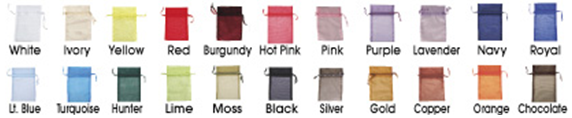 Fabric Bag Packaging for Hair extensions, closures and wigs