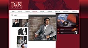 Website Design for Apparel and Clothing Retail Outlets