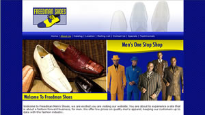 Apparel and Fashion - Website Design for Shoes Online - Atlanta
