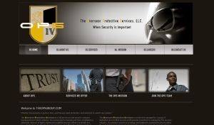 Security Company and Body guards Website Designer in Gwinnett and Fulton