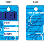 Custom printed Hair Hang Tag