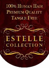 100% Human Hair Logo - Estelle Collection from Australia