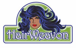 Logo for hair extensions company in Ireland (2009)