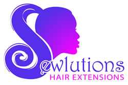 Sew-in Hair Extensions Logo design