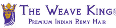 One of our early logo designs for The Weave King - Indian Remy Hair Extensions (2009)