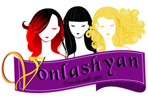 Vonlashyan logo design appeals to women everywhere