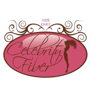 Celebrity Fiber had 3 hair extensions textures each with a slightly different logo design - Kinky