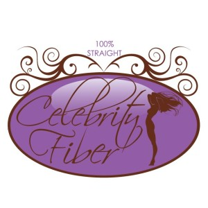 Celebrity Fiber had 3 hair extensions textures each with a slightly different logo design - Straight