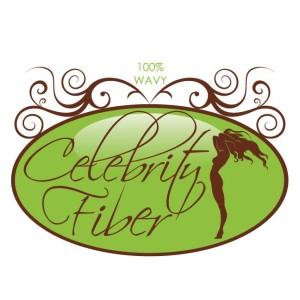 Celebrity Fiber had 3 hair extensions textures each with a slightly different logo design - Wavy