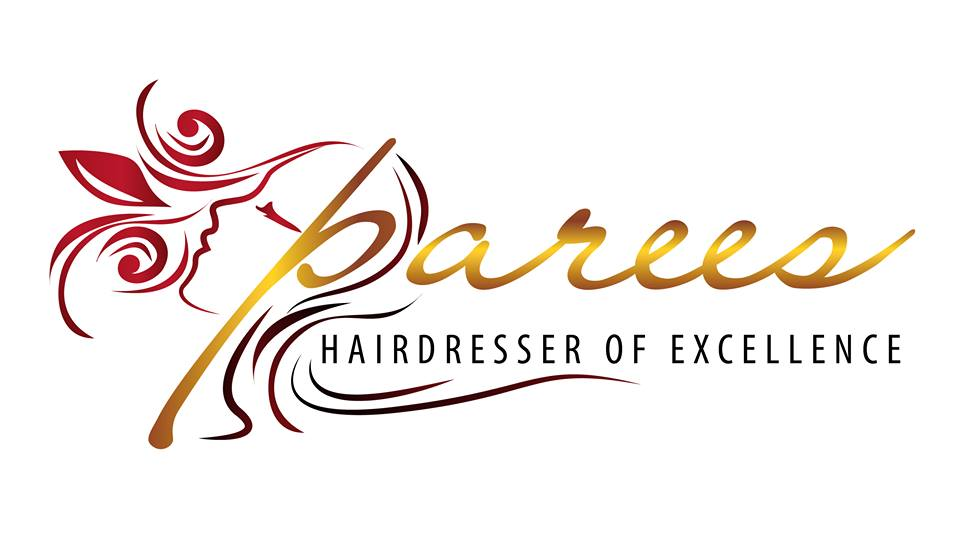 Logo designed for Parees Hair Salon (UK)